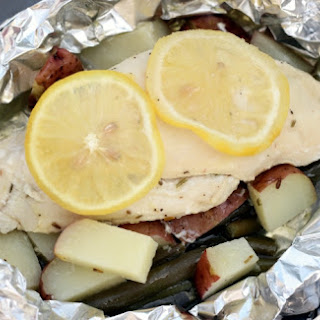 Lemon Chicken Campfire Meal Recipe