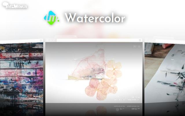 Watercolor Wallpapers New Tab
