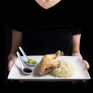 Hainanese Chicken Rice in Pressure Cooker
