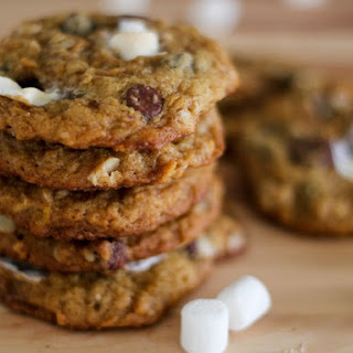 Chocolate Chip Marshmallow Oatmeal Cookies Recipes.