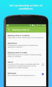 Screen Mngr (Keep screen on) v1.8.0 (Full)