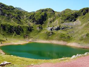 Photo: Laguna de origen glaciar. Lagos de Saliencia (Asturias)