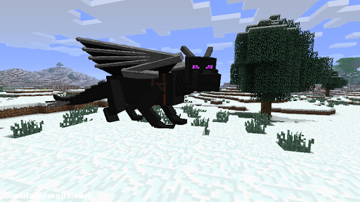 Ender Dragon Mod for Minecraft