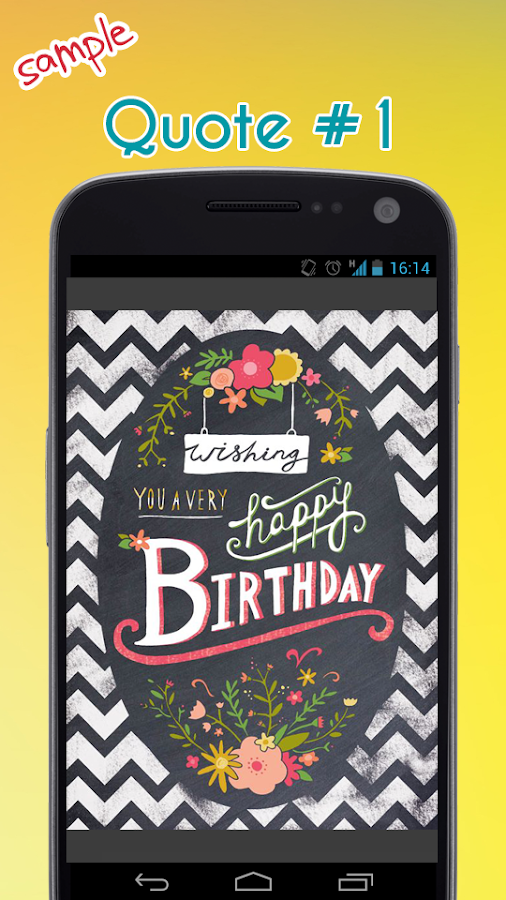 Happy Birthday Quotes Android Apps on Google Play – Free Cell Phone Birthday Greetings