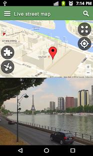 Ulice Živě Mapa Zobrazit Pronájem A & Chůze S Mapa - náhled