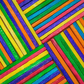 Patterns by Ovidiu Sova - Abstract Patterns ( patterns, wood, abstract art, colors, lines, rgb )
