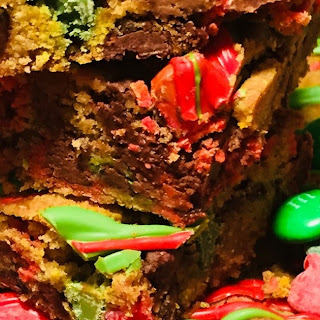 Leftover Candy Cookie Bars Recipe