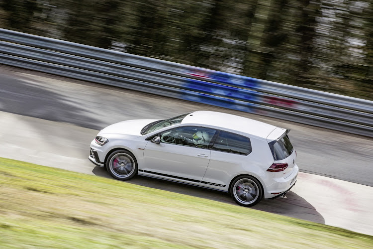 The Clubsport S was officially the fastest production front-wheel-drive car around the Nürburgring until the Honda Civic Type R stole its crown in 2017.