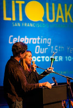 Photo: Dave Eggers and Vendela Vida at the McSweeney's Variety Show + Presentation of Litquake's 2014 Barbary Coast Award to them on behalf of their work with 826 Valencia, The Believer and McSweeney's Photo Credit: Cynthia Wood