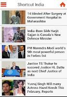 Screenshot of Shortcut India(Live Mobile TV)