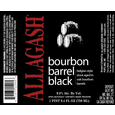 Allagash Bourbon Barrel Black