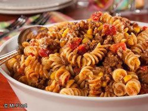 Beefy Mexican Mac Recipe