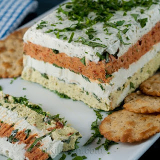 Four Layer Cheese Terrine