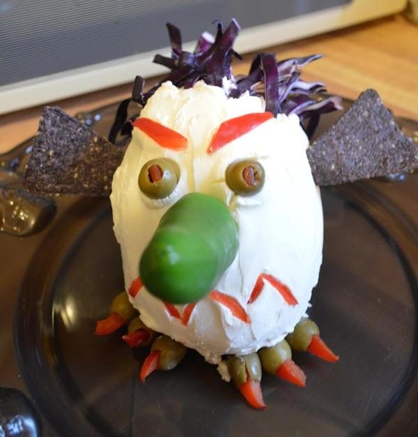 Goblin Head Cheese Ball Recipe