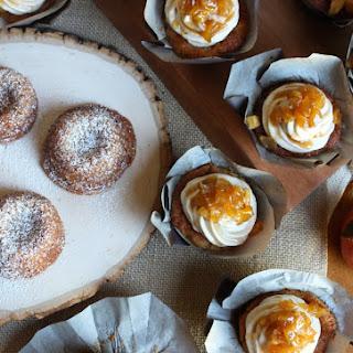 Apple Pie Cupcake and Apple Spice Teacakes - gluten free, dairy free, egg free, nut free, vegan