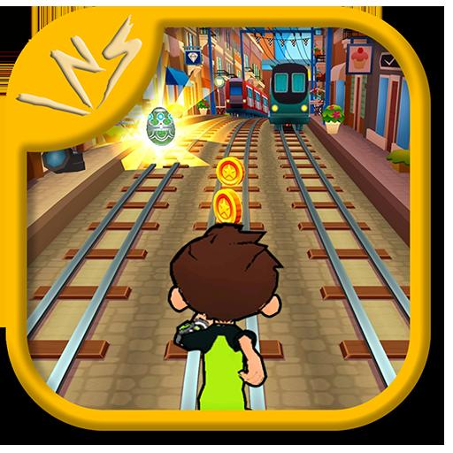 Subway Ben Alien 10 (game)