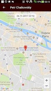 MapMeSafe - náhled