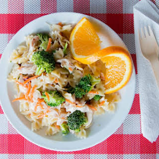 Rotisserie Chicken and Veggie Picnic Pasta Salad.