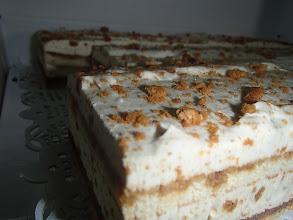 Photo: Gâteau moelleux aux épices spéculoos