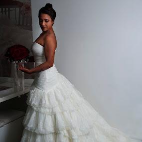 Bride by Cristobal Garciaferro Rubio - Wedding Bride ( young bride, mexico, lady, bride, young lady )