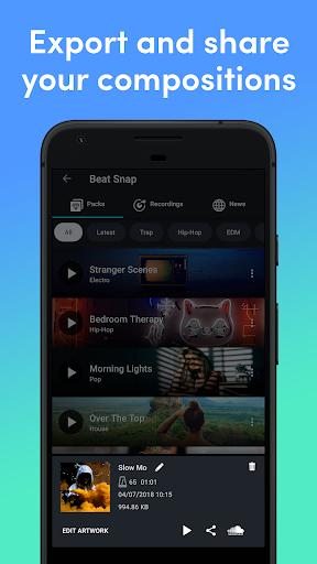 Beat Snap - Music & Beat Maker 2.0.8 Screenshots 6
