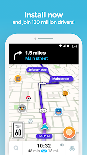 Waze GPS Mod Apk Latest Version (Unlocked) 4.60.0.5 8