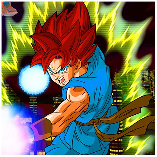 Saiyan Goku Hero City Survival