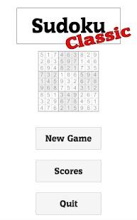 Sudoku Classic - náhled