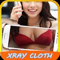 Xray Cloth Scan camera prank icon