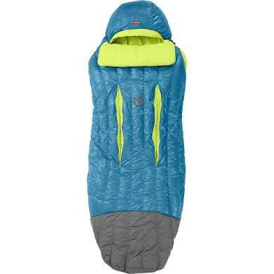 NEMO Disco 15 Sleeping Bag, 650 Fill Power Down with Nikwax: Long, Deep Sea/Key Lime