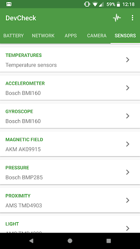 DevCheck Hardware and System Info screenshot 8