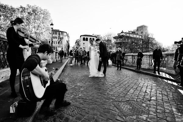Ballo di Nozze sul Ponte degli Angeli di davide fantasia