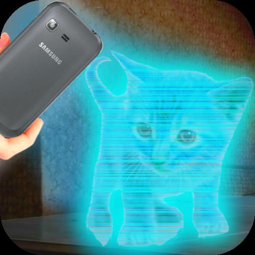 Cats 3D Hologram Simulator