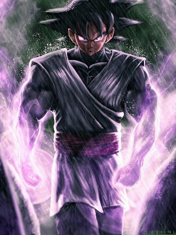 Descargar Black Goku Rose Wallpaper By Supa Powa Apk última