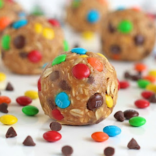 No-Bake Monster Cookie Balls