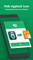 screenshot of AppLock - Lock Apps, PIN & Pattern Lock