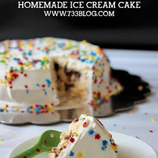 Fudge Brownie Ice Cream Cake