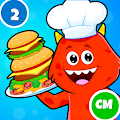 Restaurant Kitchen Cooking Games for Kids - Free APK