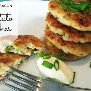 Cheesy Bacon Potato Cakes