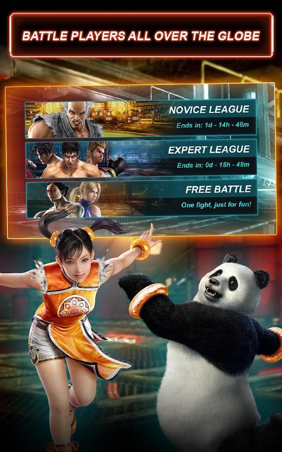 Tekken Card Tournament (CCG)- screenshot