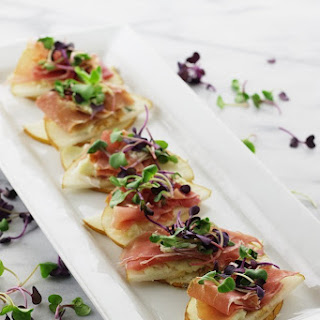 Asian Pear Prosciutto Appetizers Recipe
