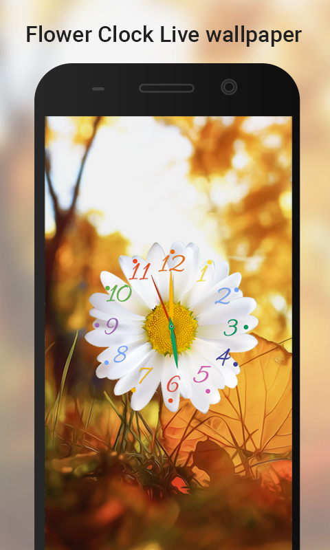 Flower Clock live wallpaper- screenshot