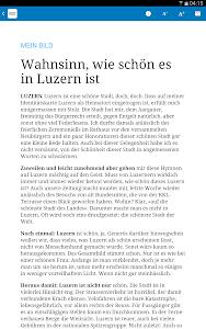 Luzerner Zeitung E-Paper screenshot 2