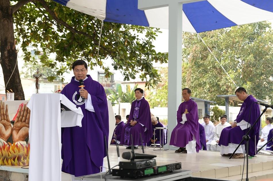 Thánh lễ tại nghĩa trang Đaminh 09.11.2019