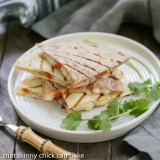 Spicy Pork Quesadillas #RealFlavorRealFast