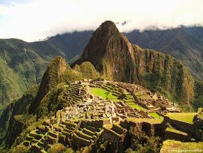 Photo: PÉROU-Le Machu Picchu (altitude 2430 m).