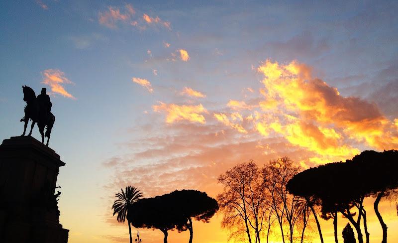 tramonto sul Gianicolo di rarrarorro