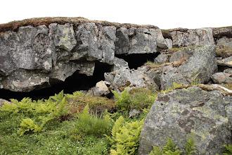 Photo: В этой мало известной пещере мы искали петроглифы чёрного цвета .