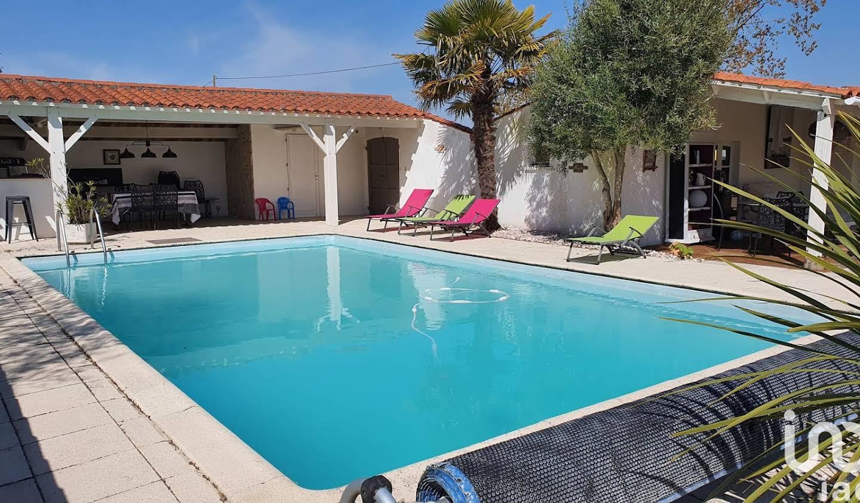 Maison avec piscine et terrasse Saint-Jean-de-Monts