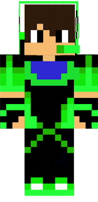 He is the guy who is green and games